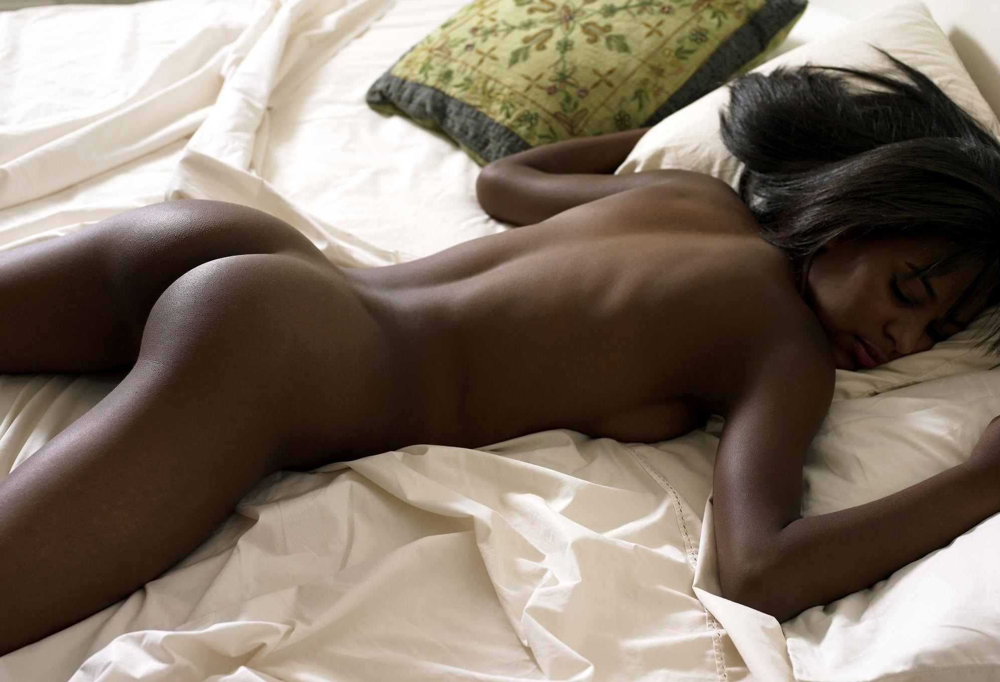 Sweet black girl nude