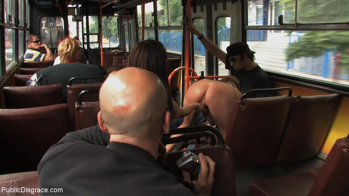 Bus shemale porn