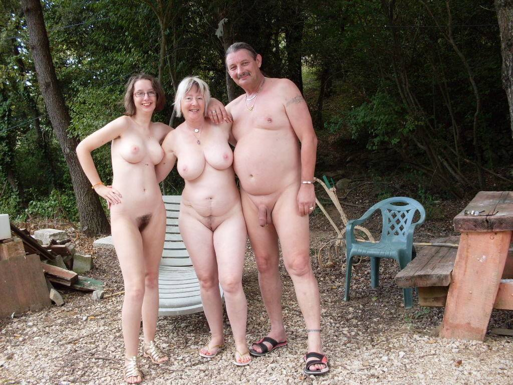 nudist french family Incestuous Family Nudists
