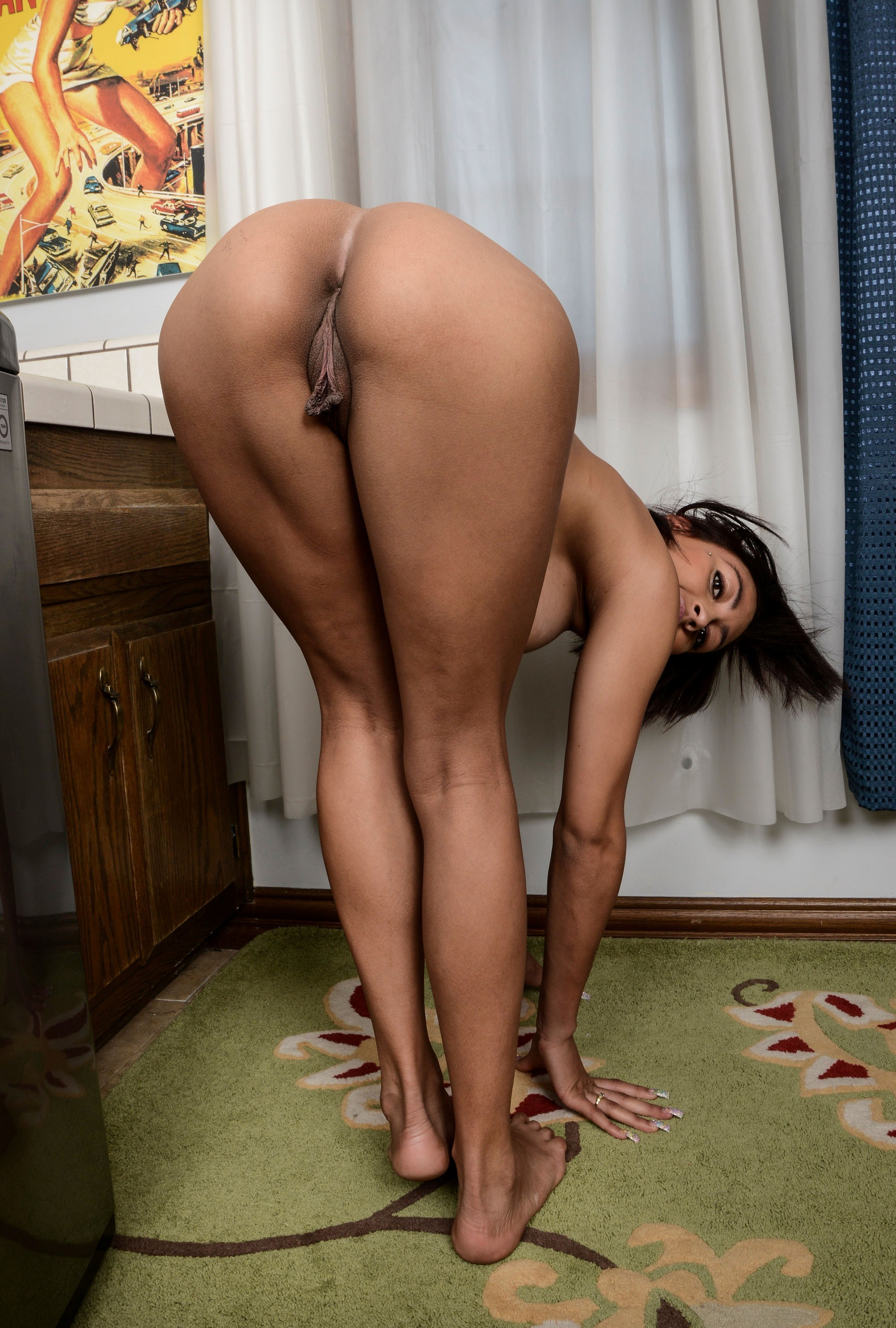 Black ass and big pussy