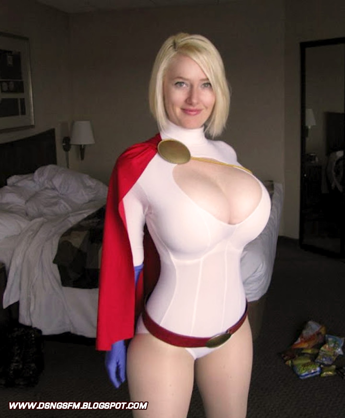 Tits cosplay hot naked big