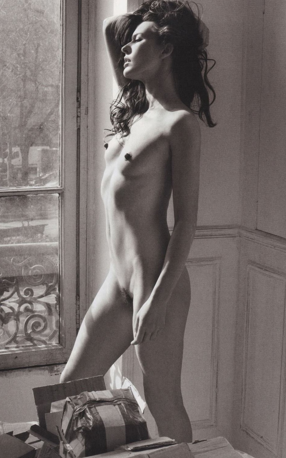 Young female sexy naked milla jovovich naked