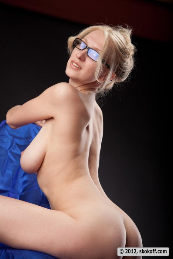 Blonde Glasses Milf