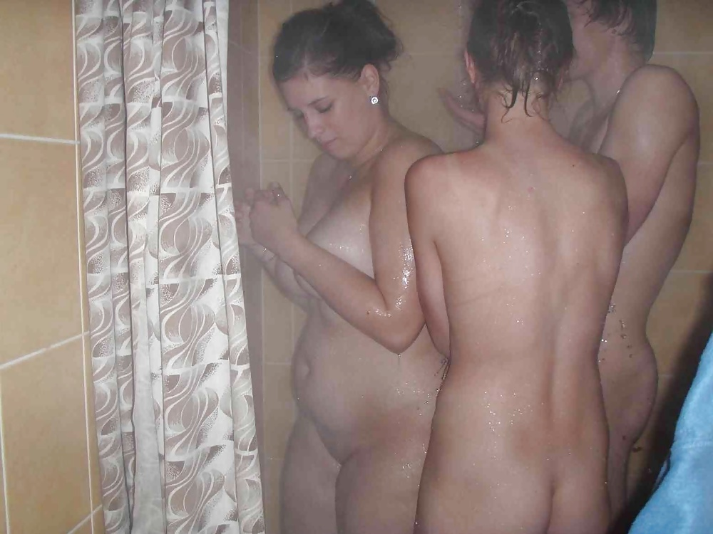 Teen girlsnaked in the shower can find