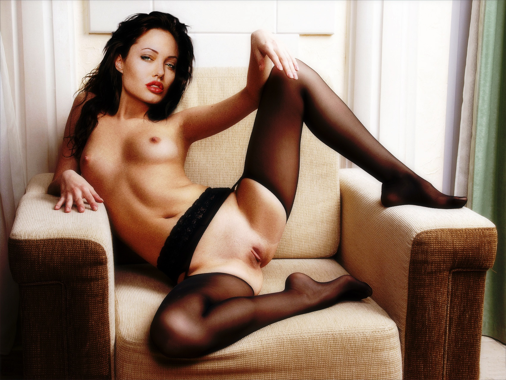 Think, that Angelina jolie young nude