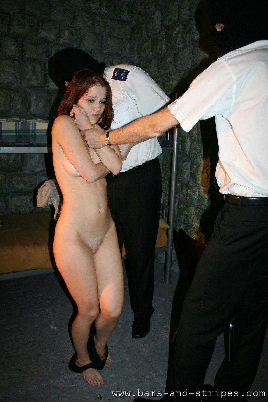 Naked Images girl gets stripped nude at bar