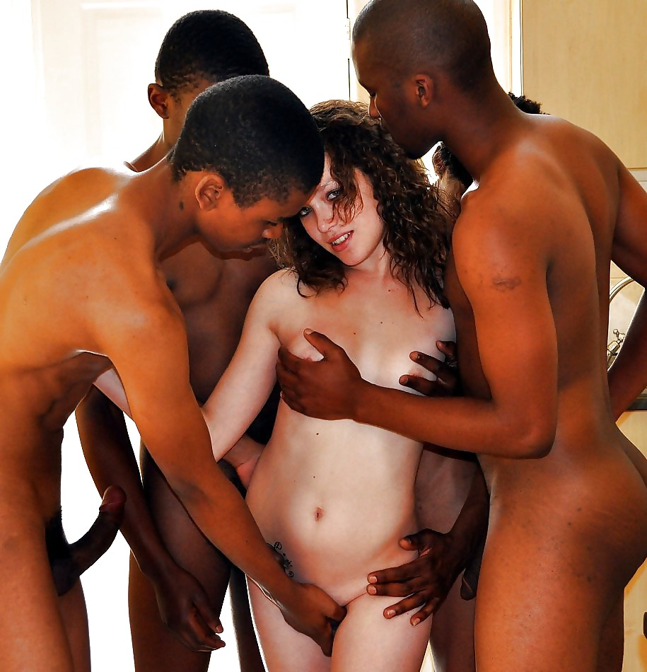 ebony strap on porn