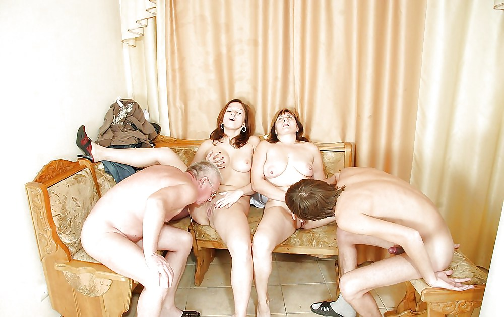 Family mother orgy
