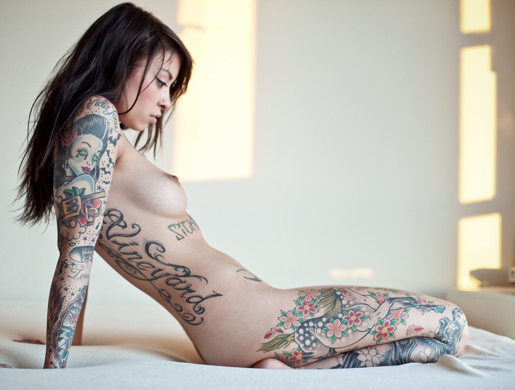 Sexy nude girls with tattoos fucking
