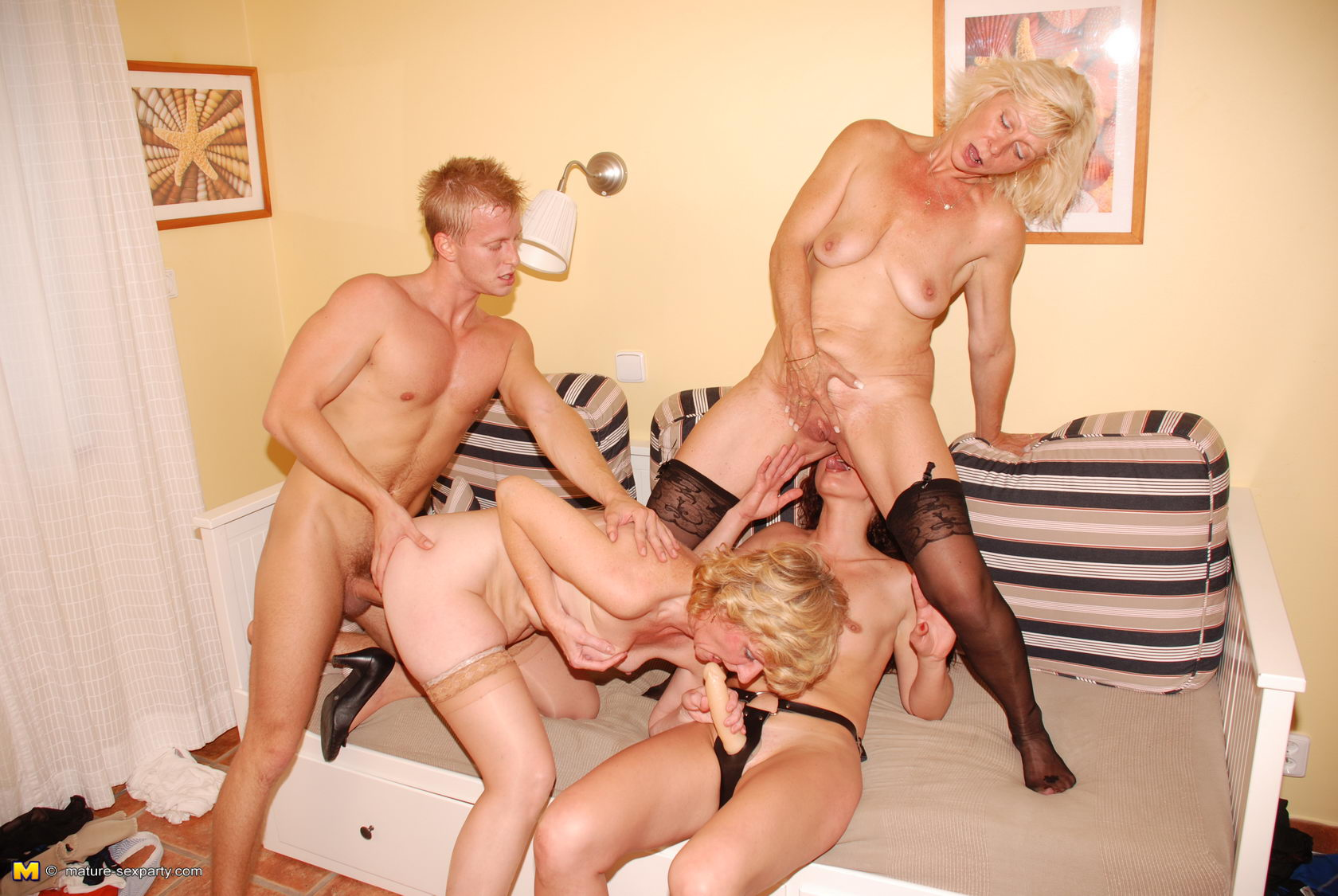 Mature Ladies Having A Sexparty On Gotporn