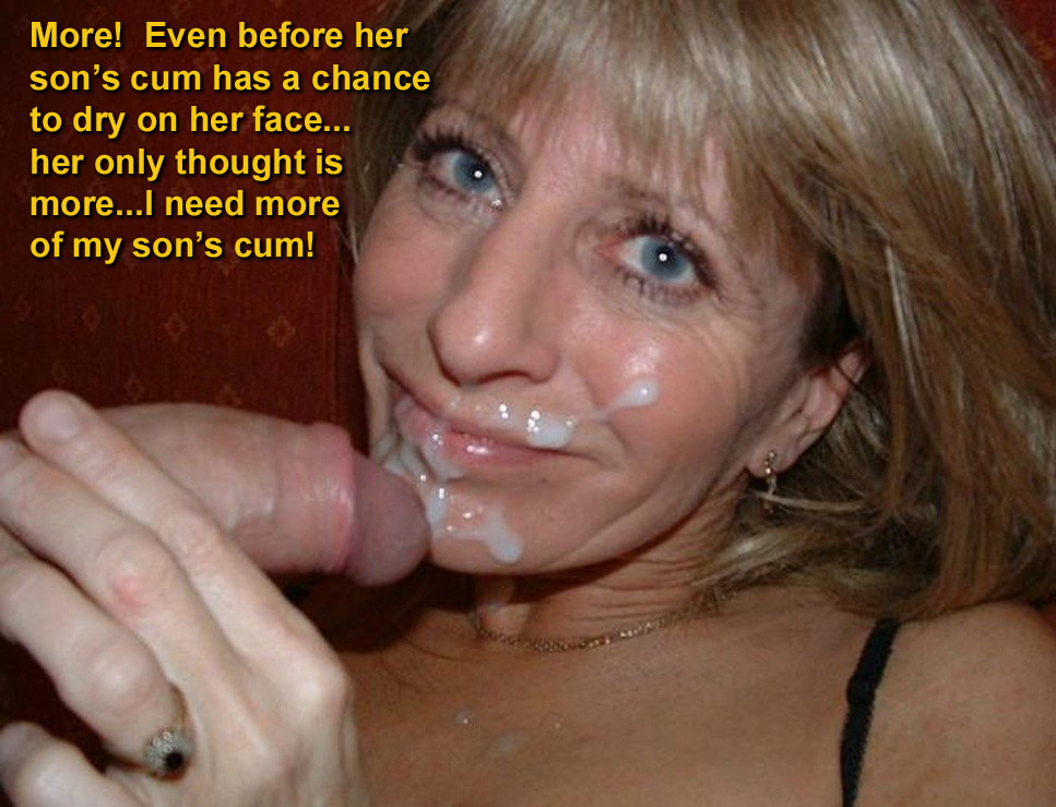 Blowjob captions blonde