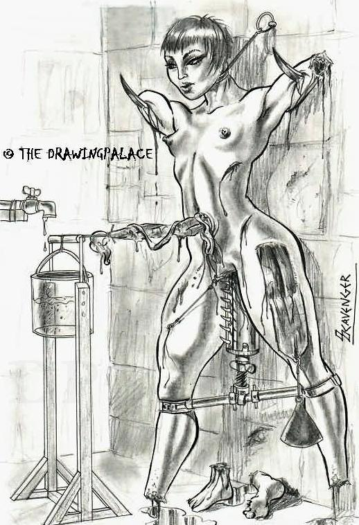 Free female sex torture drawing