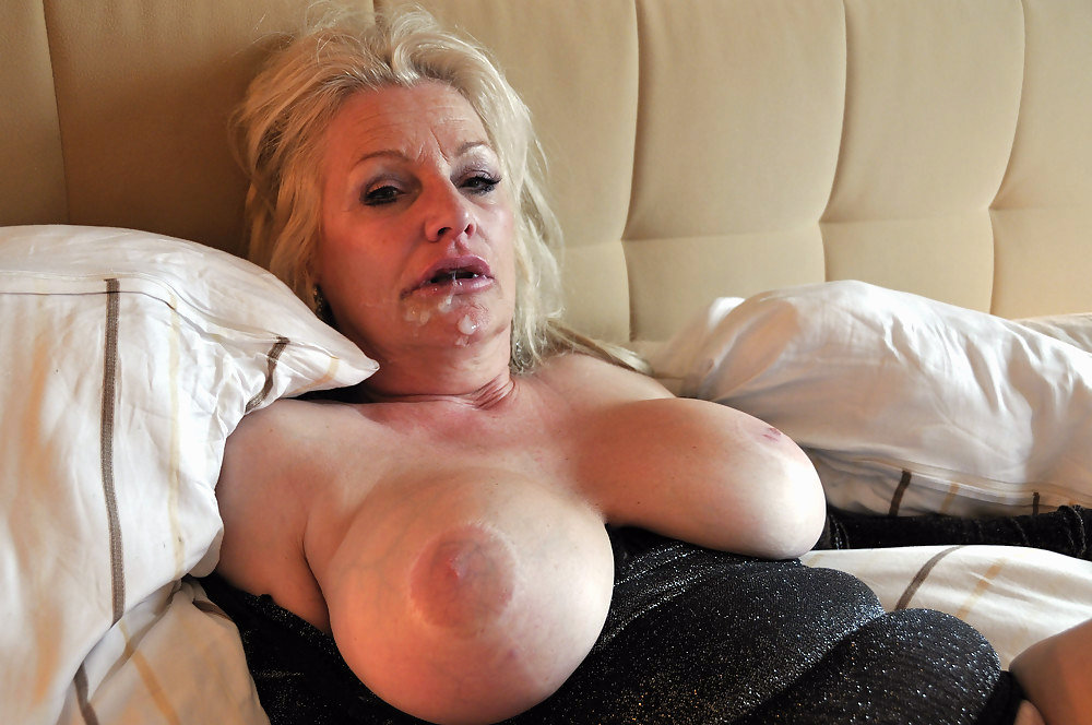 Cum on Granny's Face - MOTHERLESS.COM