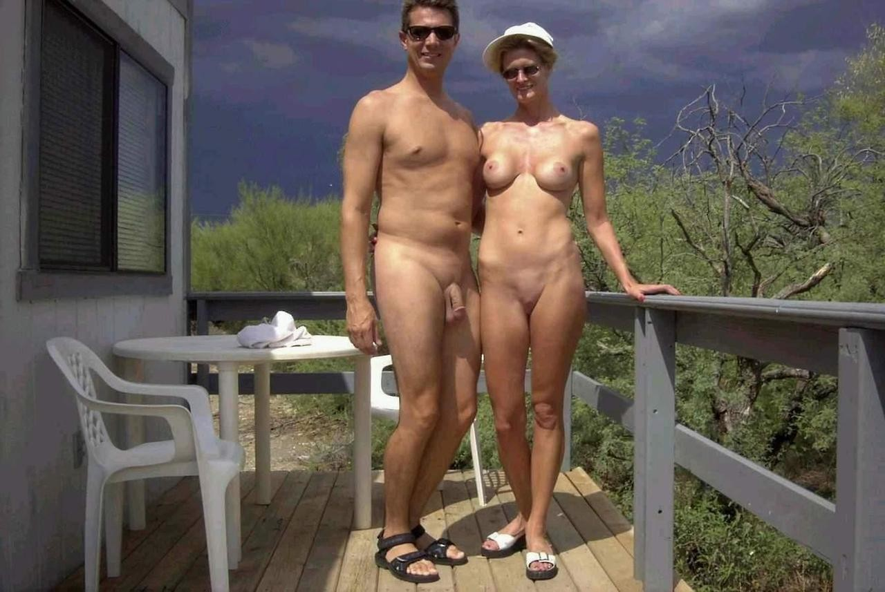 Nudist couple who travel the world think more young adults should try naturism
