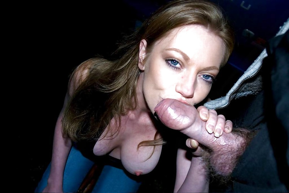 Laura Love Sucking Cock In The Street