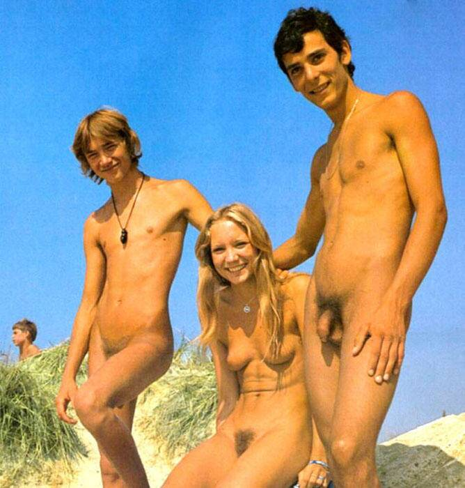 young male nudists Boy