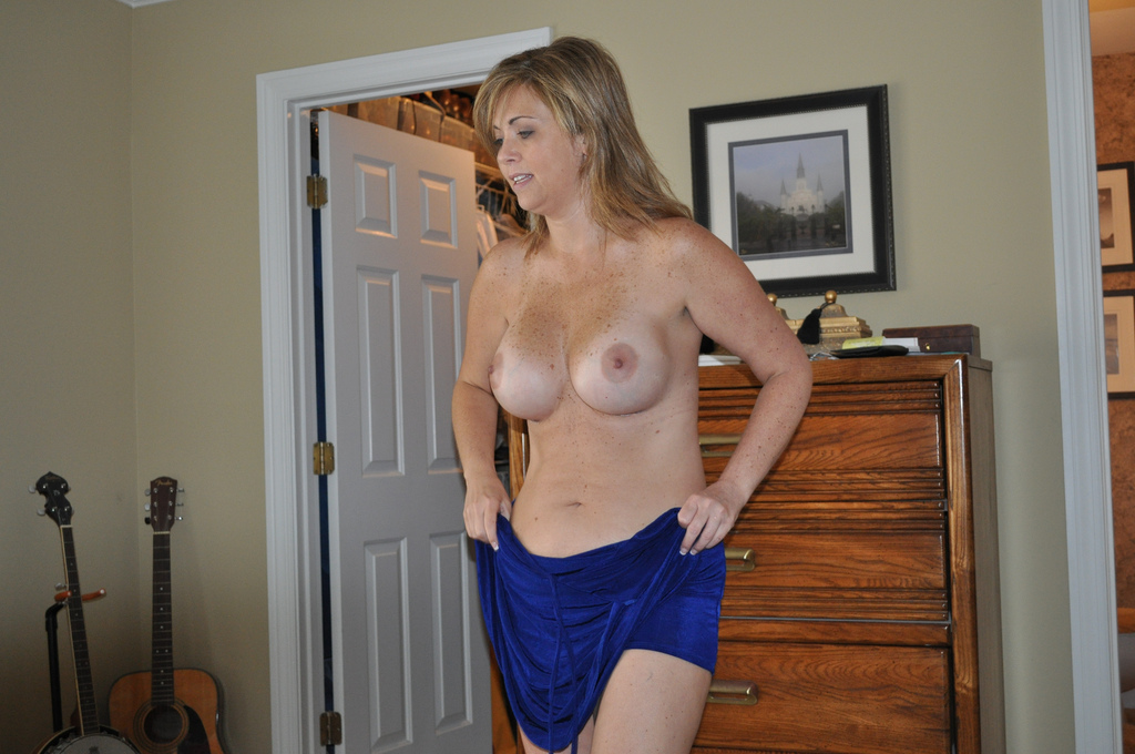 Hot freckled milf