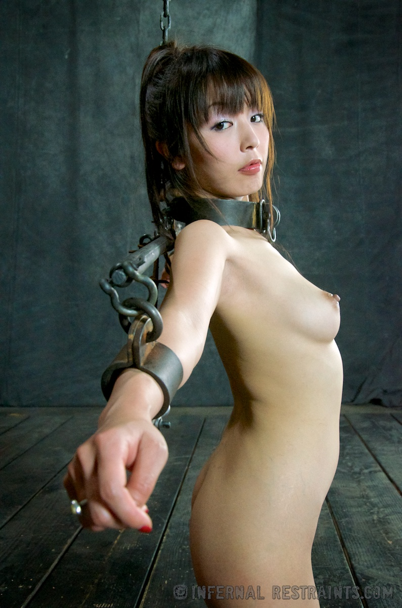 Gape asian bondage models need incher blow
