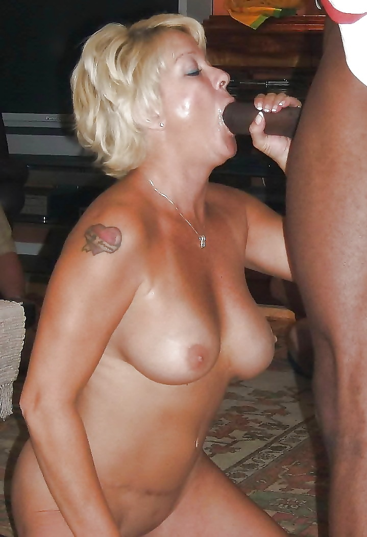 Sucking dick wives black