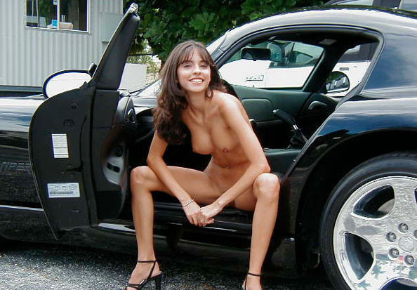 and Classic girls cars nude