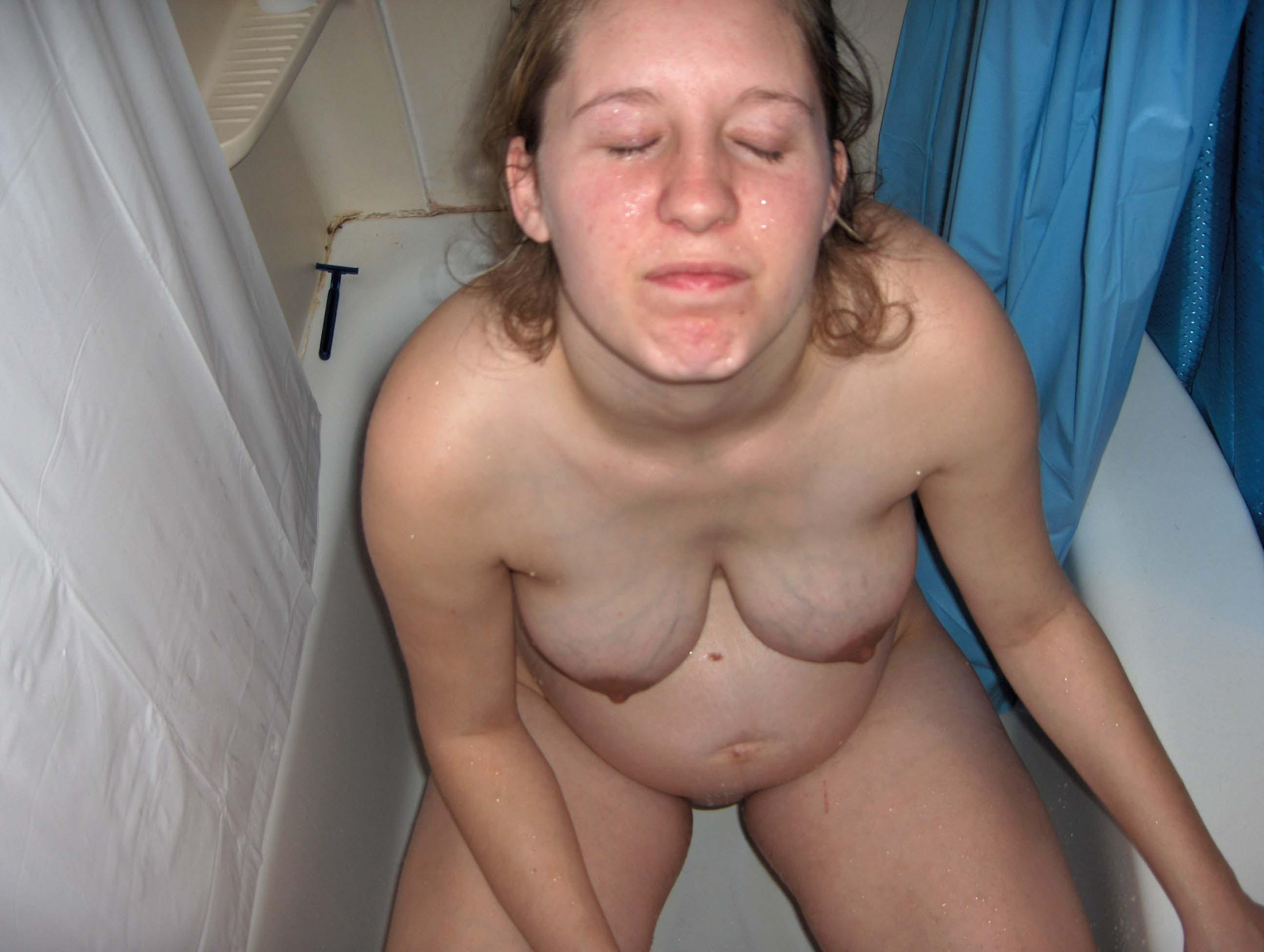 Does fat white girls fucked naked