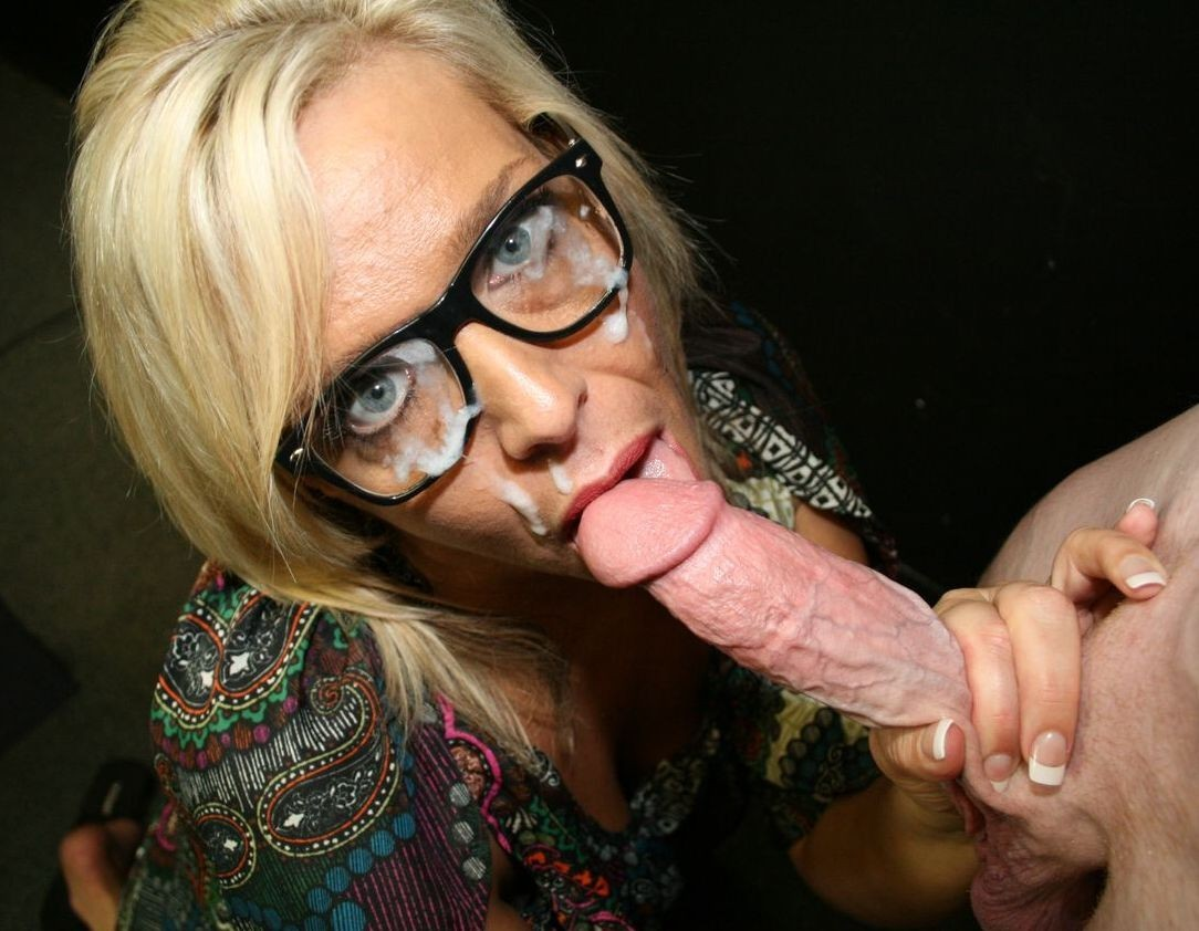 Milf With Glasses Takes A Gigantic Dick Up Her Snatch Porn Photo Online