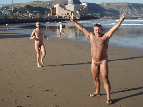Excellent Beach daddy naked love topic, very