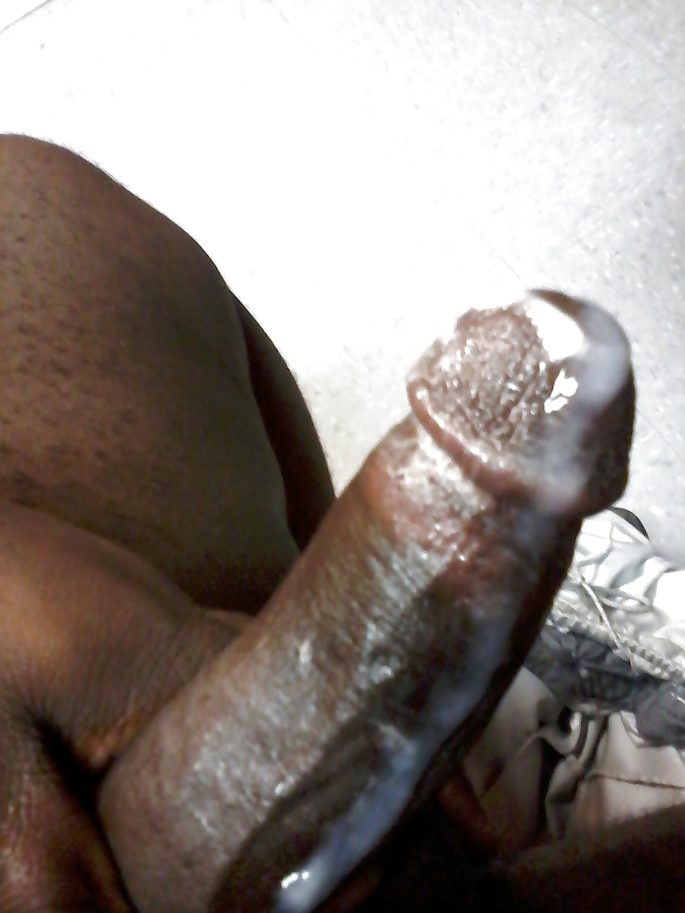 Black dick cum