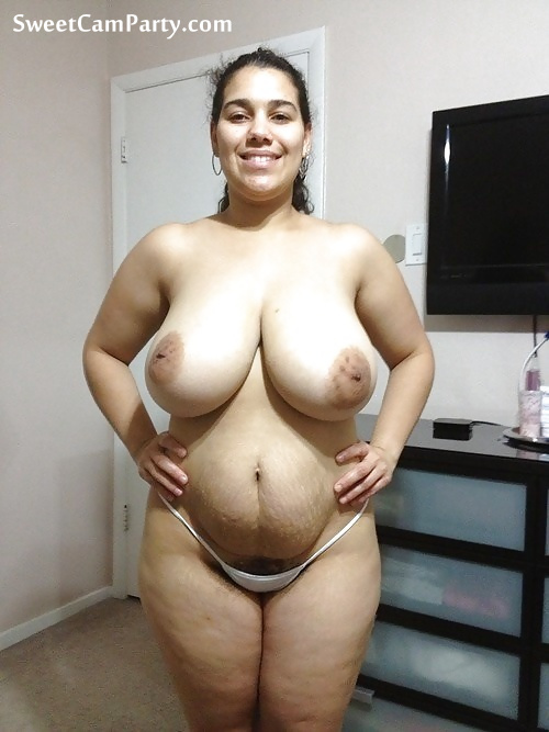 Amateur Latina First Big Cock