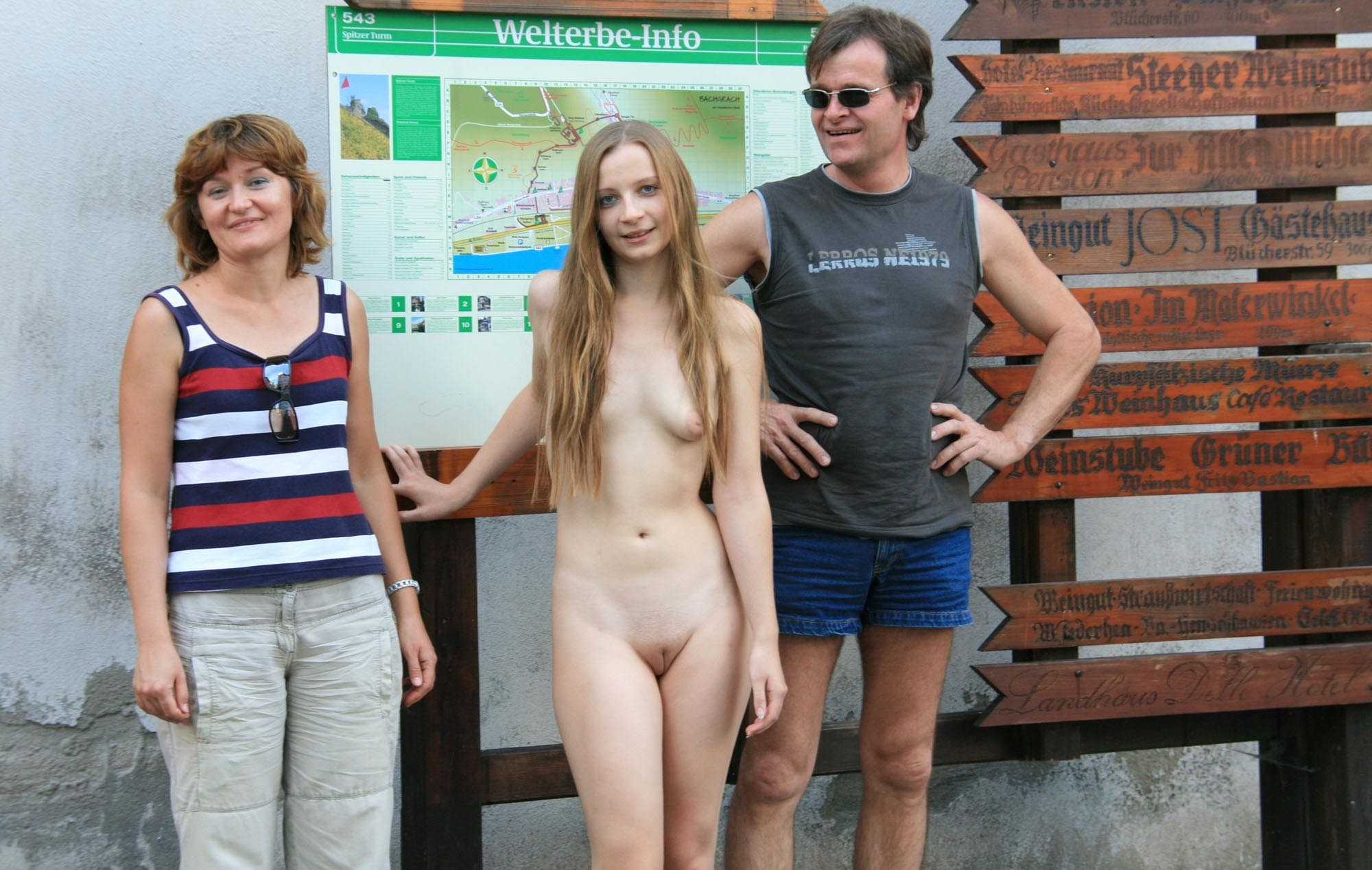 Nudist Daughters Family