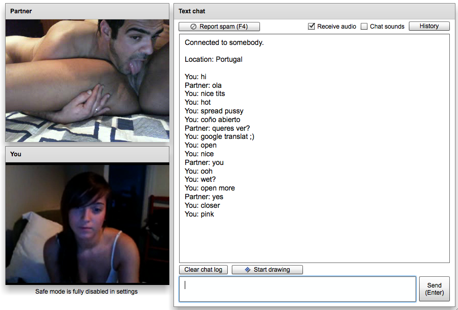 Chatroulette couple from the usa 24 march 2012 4
