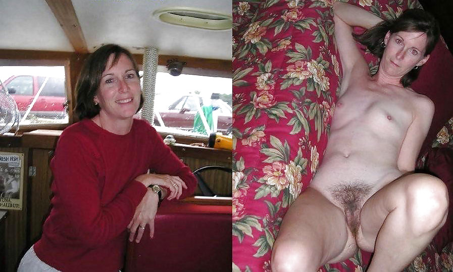 After wives mature amateur before and