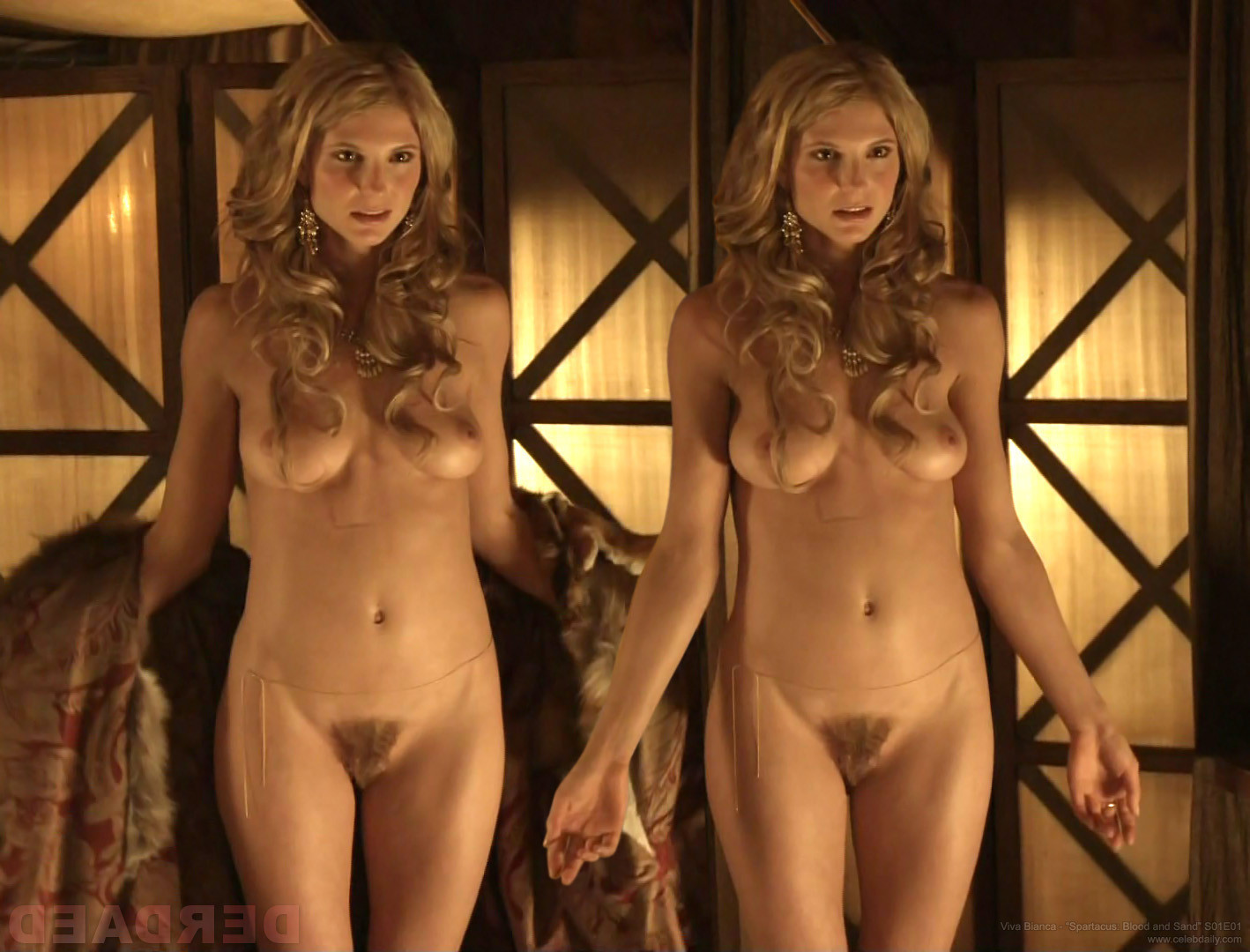 Actress fully nude