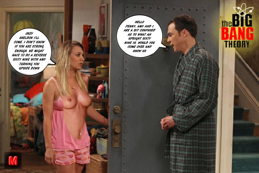 Big bang theory a parody xxx
