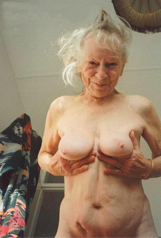 Naked really old women