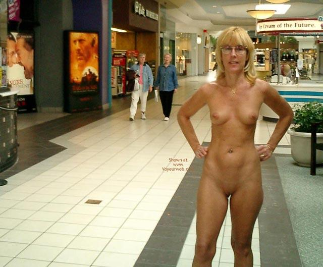 Nude In The Mall
