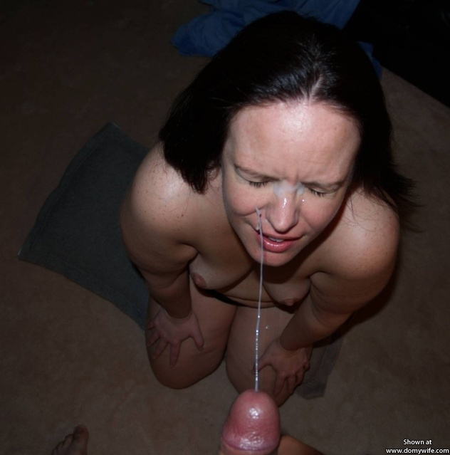 Amateur mature cum facials