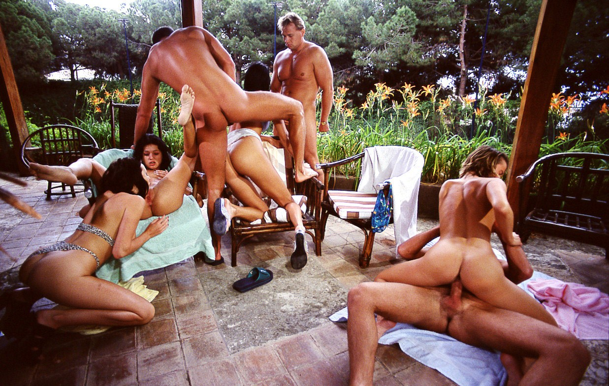Outside Orgy