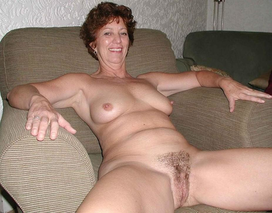 Good looking hairy milf