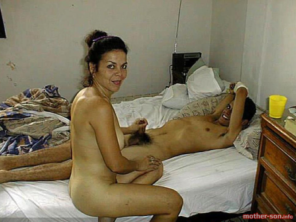 Son naked a camp and in Mother nudist