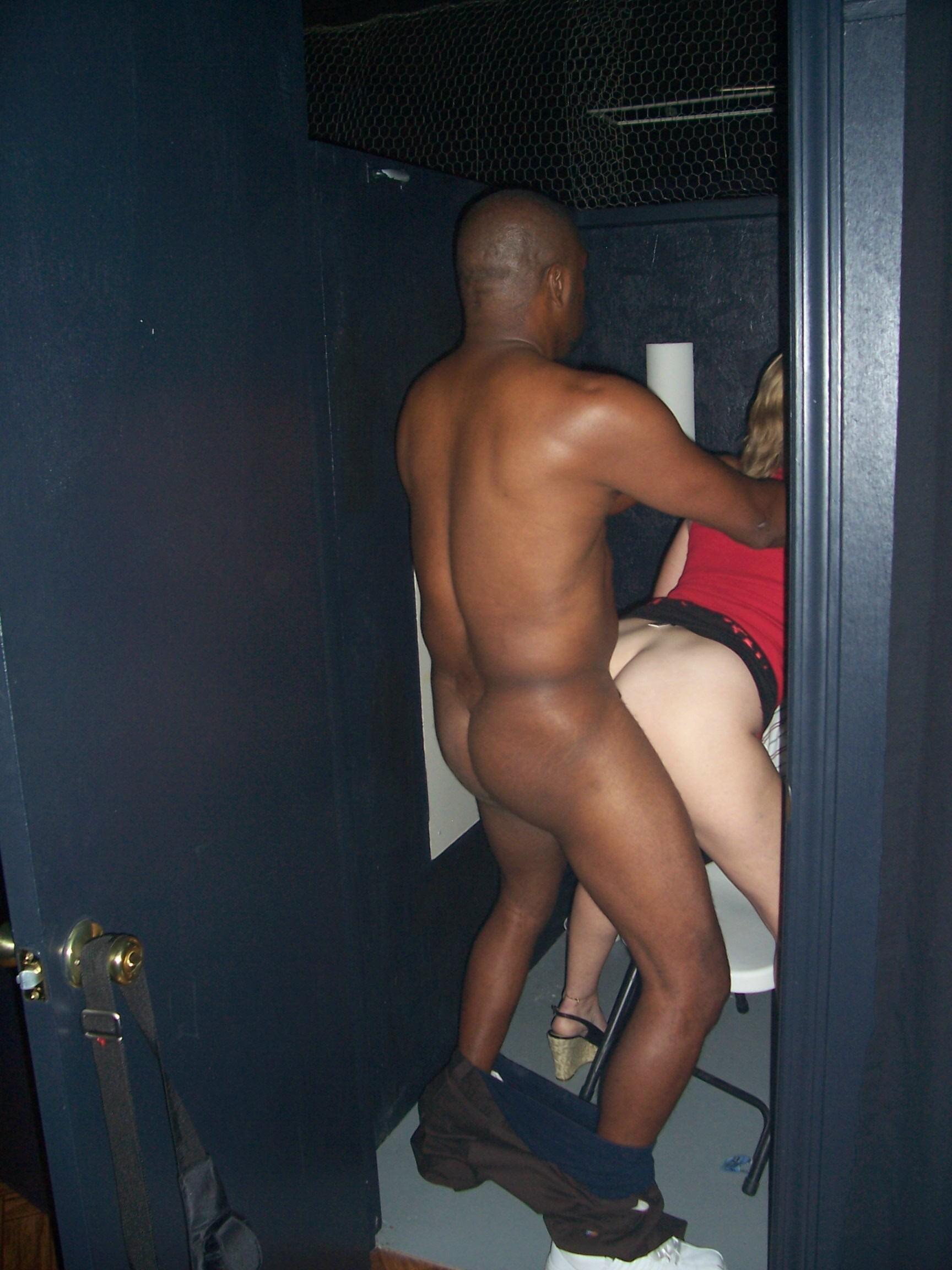 Very gloryhole video booths turns out?