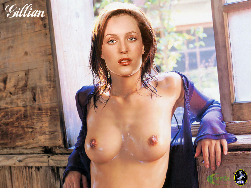 Gillian anderson fake sex pictures