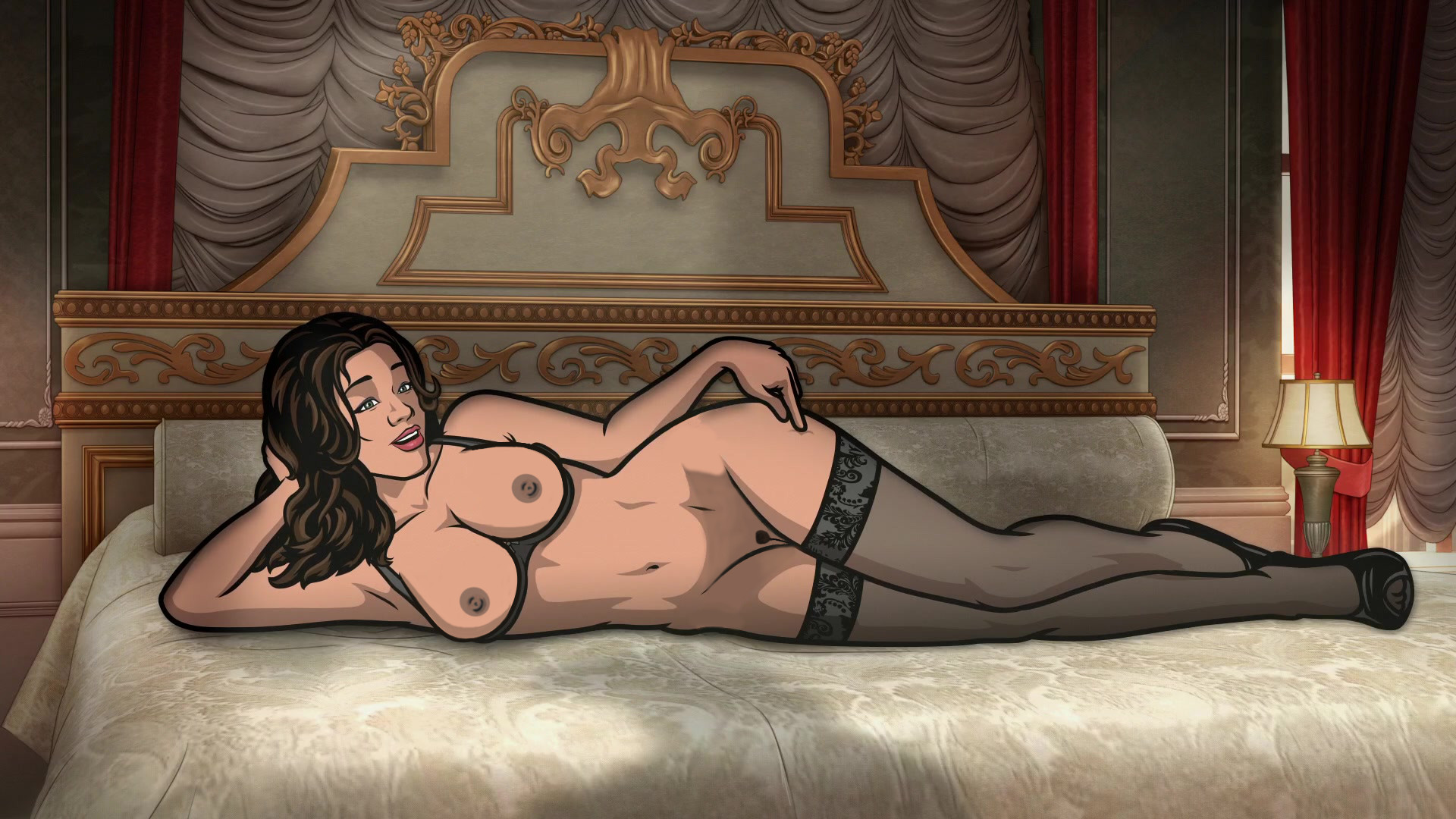Archer tv nude sexy images
