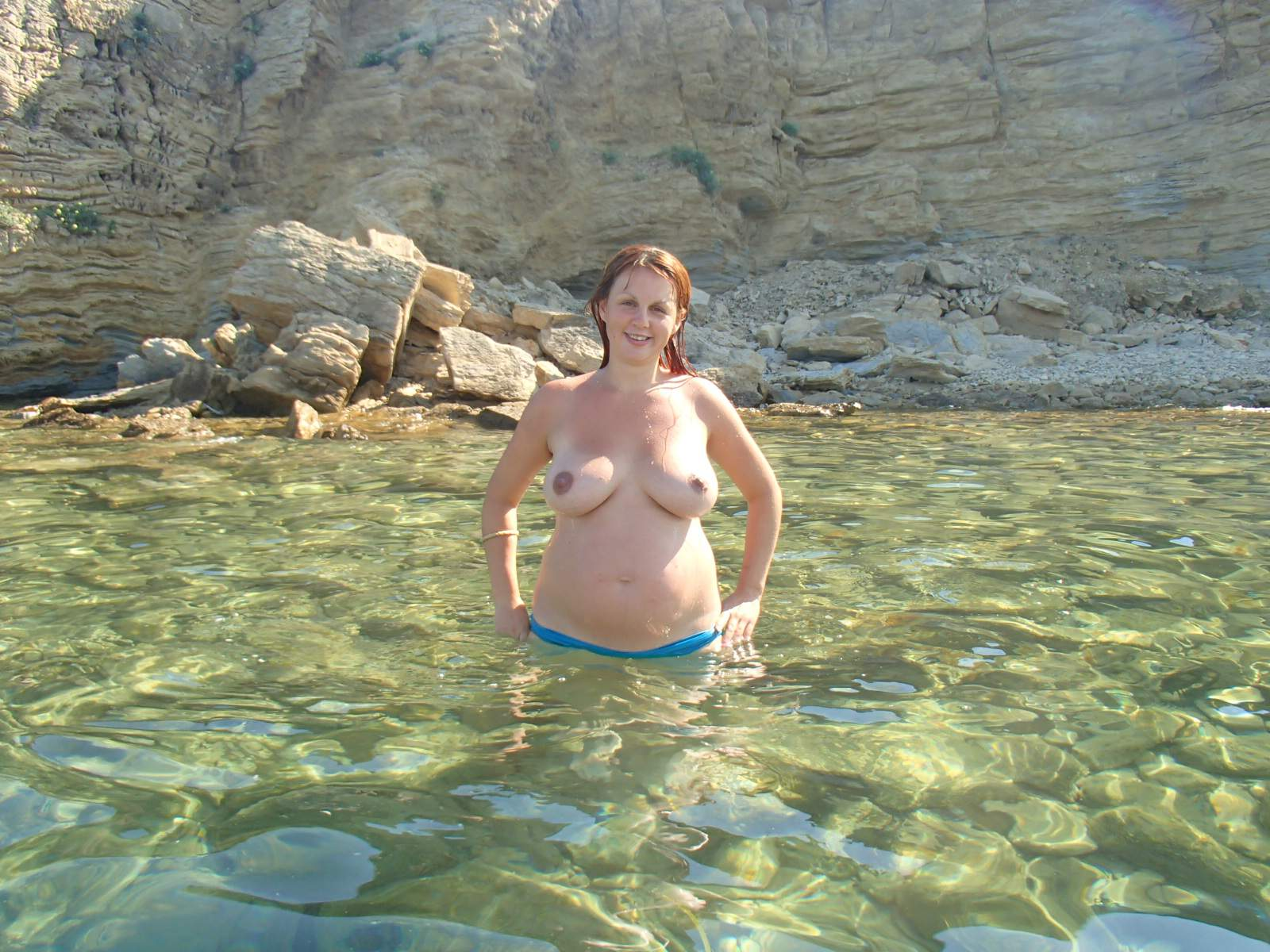 Pregnant redhead women naked