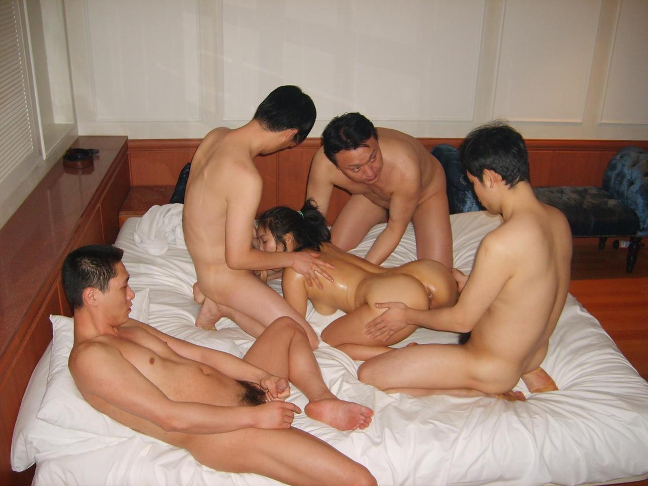Idea Chinese group sex scandal was