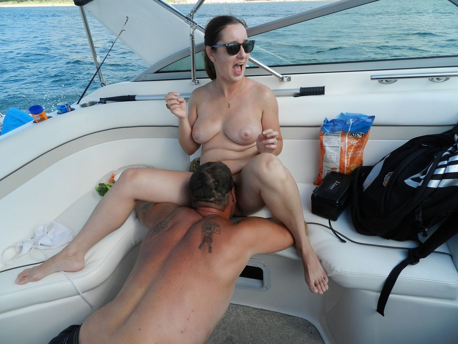 amateur boat Real wife