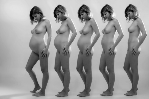nude before after pregnant