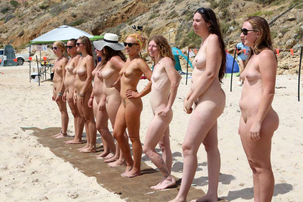 Maslin beach nudist contest so?