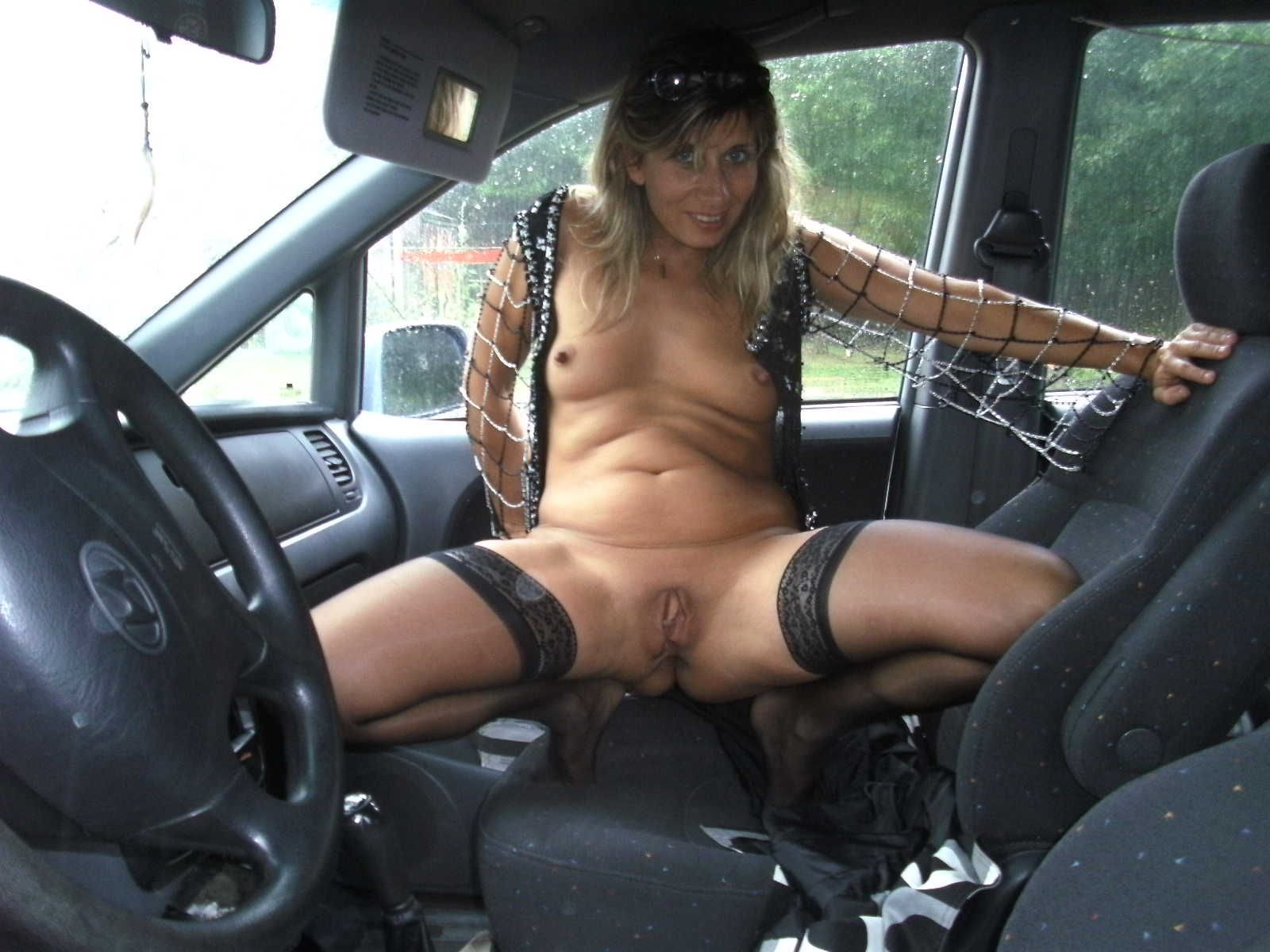 Naked ladies using a car shifter as a dildo, young boys nude giving blowjobs