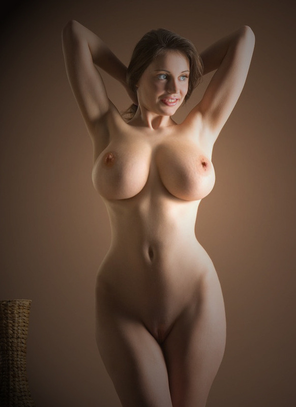 naked Hourglass body